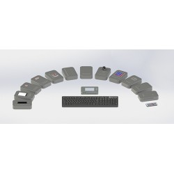 """""""Information Input/Output Devices"""" Laboratory Stand (NEW)"""