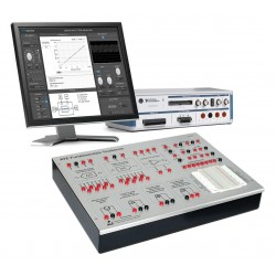 Electronic Components Characterization Lab based on NI VirtualBench